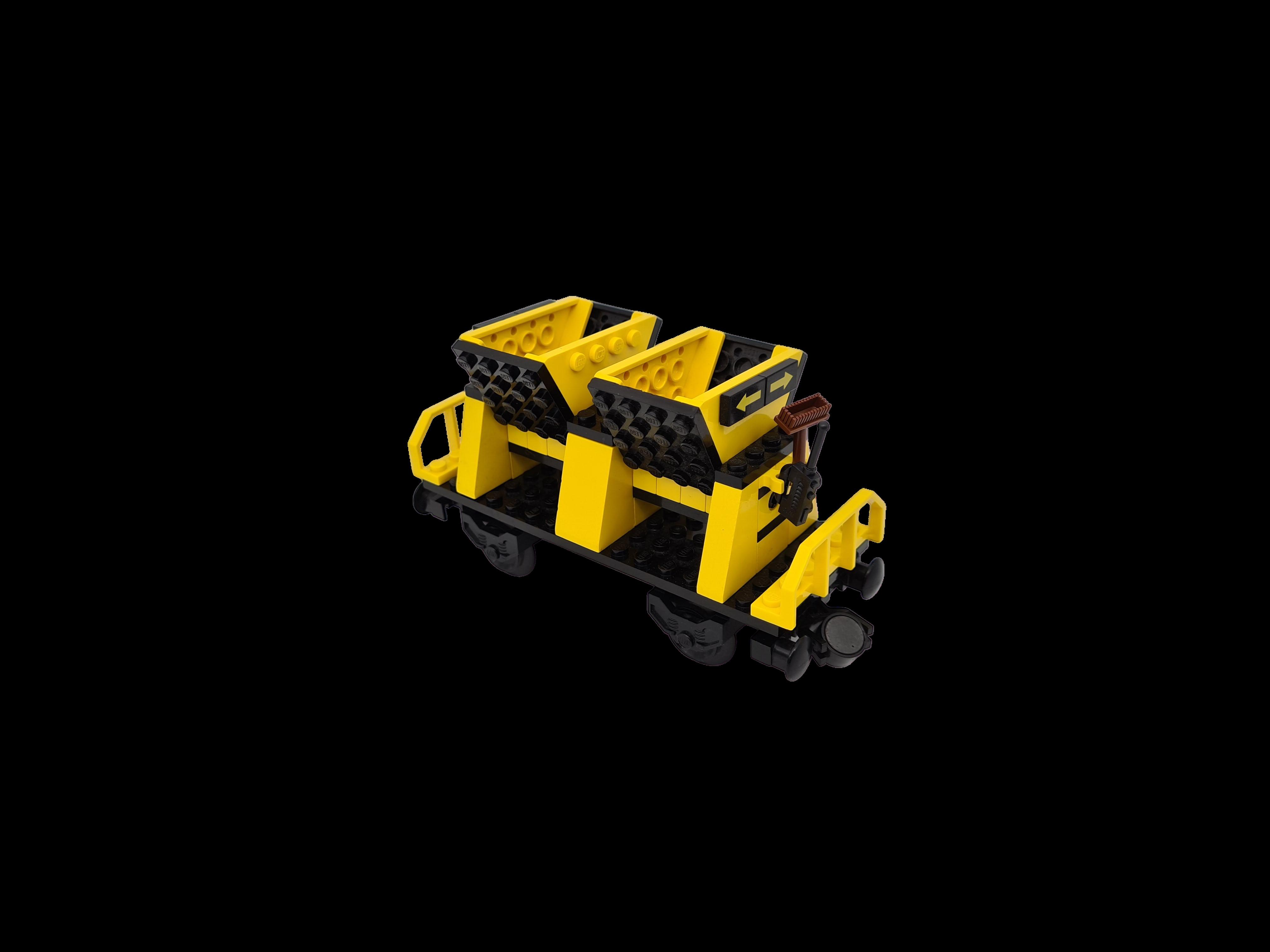 Lego 9V RC Eisenbahn TRAIN Kipper Ladegut Bauteil GELB